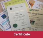 Ultra Supplies Singapore Certificates Printing Solution
